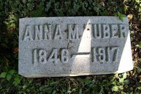 HALL HUBER, ANNA M. - Logan County, Ohio | ANNA M. HALL HUBER - Ohio Gravestone Photos