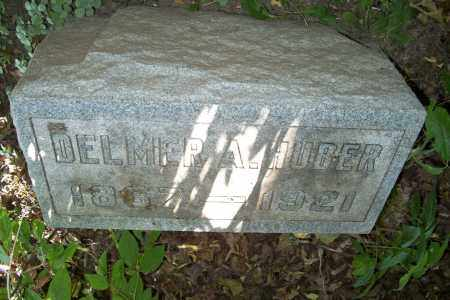 HUBER, DELMER A. - Logan County, Ohio | DELMER A. HUBER - Ohio Gravestone Photos