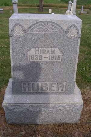 HUBER, HIRAM - Logan County, Ohio   HIRAM HUBER - Ohio Gravestone Photos