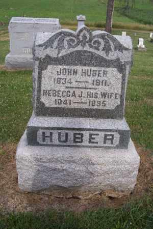 HUBER, REBECCA J - Logan County, Ohio   REBECCA J HUBER - Ohio Gravestone Photos