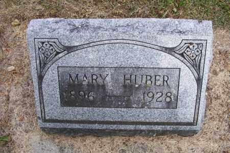 HUBER, MARY - Logan County, Ohio | MARY HUBER - Ohio Gravestone Photos