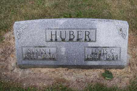 HUBER, LEWIS C. - Logan County, Ohio | LEWIS C. HUBER - Ohio Gravestone Photos
