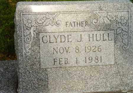 HULL JR, CLYDE - Logan County, Ohio | CLYDE HULL JR - Ohio Gravestone Photos