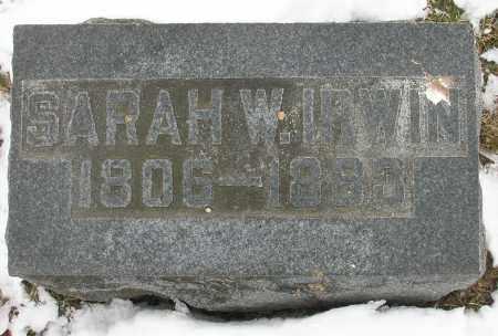 IRWIN, SARAH - Logan County, Ohio | SARAH IRWIN - Ohio Gravestone Photos