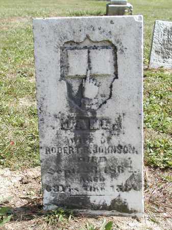 JOHNSON, JANE - Logan County, Ohio   JANE JOHNSON - Ohio Gravestone Photos
