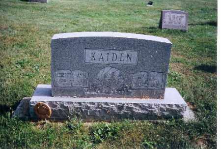 KAIDEN, CHERYLL ANN - Logan County, Ohio   CHERYLL ANN KAIDEN - Ohio Gravestone Photos