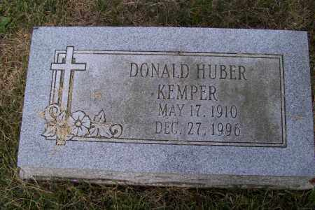 KEMPER, DONALD HUBER - Logan County, Ohio | DONALD HUBER KEMPER - Ohio Gravestone Photos