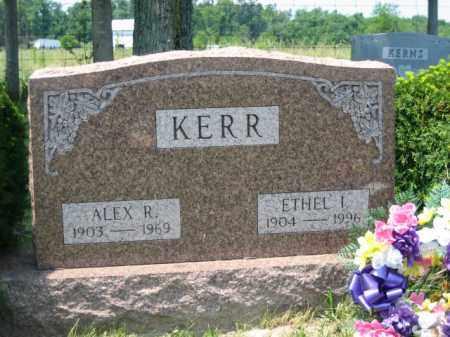 KERR, ALEX R. - Logan County, Ohio | ALEX R. KERR - Ohio Gravestone Photos