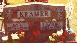 KRAMER, JAY E - Logan County, Ohio | JAY E KRAMER - Ohio Gravestone Photos