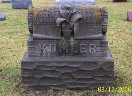 KUMLER, MARY C. - Logan County, Ohio | MARY C. KUMLER - Ohio Gravestone Photos