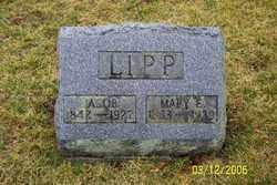 LIPP, MARY E - Logan County, Ohio | MARY E LIPP - Ohio Gravestone Photos
