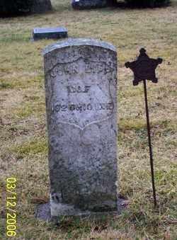 LIPP, JOHN - Logan County, Ohio | JOHN LIPP - Ohio Gravestone Photos
