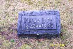 LIPP, PHEBE - Logan County, Ohio   PHEBE LIPP - Ohio Gravestone Photos