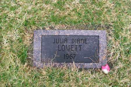 LOVETT, JULIA DIANE - Logan County, Ohio | JULIA DIANE LOVETT - Ohio Gravestone Photos