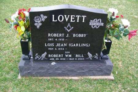 LOVETT, ROBERT WILLIAM - Logan County, Ohio | ROBERT WILLIAM LOVETT - Ohio Gravestone Photos