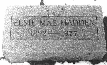 RODABAUGH MADDEN, ELSIE MAE - Logan County, Ohio | ELSIE MAE RODABAUGH MADDEN - Ohio Gravestone Photos