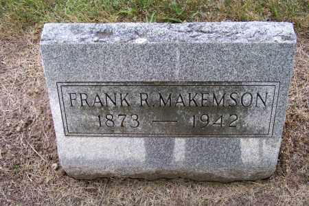 MAKENSON, FRANK - Logan County, Ohio | FRANK MAKENSON - Ohio Gravestone Photos