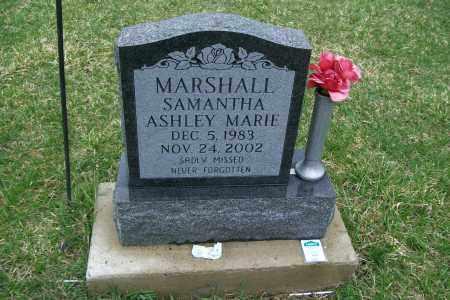 MARSHALL, SAMANTHA ASHLEY MARIE - Logan County, Ohio | SAMANTHA ASHLEY MARIE MARSHALL - Ohio Gravestone Photos