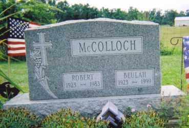MCCOLLOCH, BEULAH MAY LUCAS - Logan County, Ohio | BEULAH MAY LUCAS MCCOLLOCH - Ohio Gravestone Photos