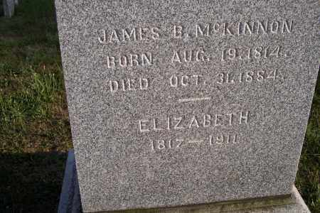 MCKINNON, JAMES B. - Logan County, Ohio   JAMES B. MCKINNON - Ohio Gravestone Photos