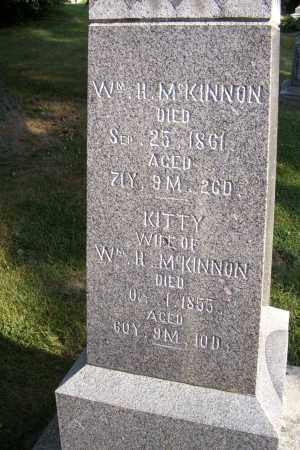 MCKINNON, WM. H. - Logan County, Ohio | WM. H. MCKINNON - Ohio Gravestone Photos