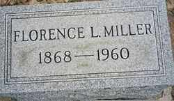 MILLER, FLORENCE L - Logan County, Ohio | FLORENCE L MILLER - Ohio Gravestone Photos