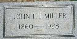 MILLER, JOHN F.T. - Logan County, Ohio | JOHN F.T. MILLER - Ohio Gravestone Photos