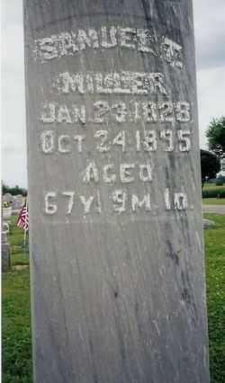 MILLER, SAMUAL THOMAS - Logan County, Ohio   SAMUAL THOMAS MILLER - Ohio Gravestone Photos