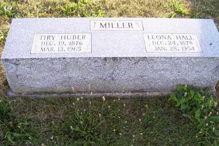 MILLER, TIRY HUBER - Logan County, Ohio | TIRY HUBER MILLER - Ohio Gravestone Photos