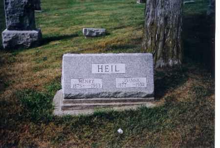 HEIL, HENRY - Logan County, Ohio | HENRY HEIL - Ohio Gravestone Photos
