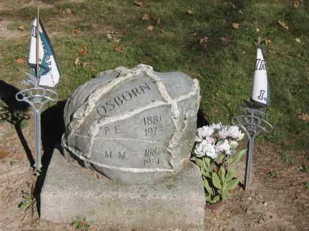 OSBORN, M.M. - Logan County, Ohio | M.M. OSBORN - Ohio Gravestone Photos