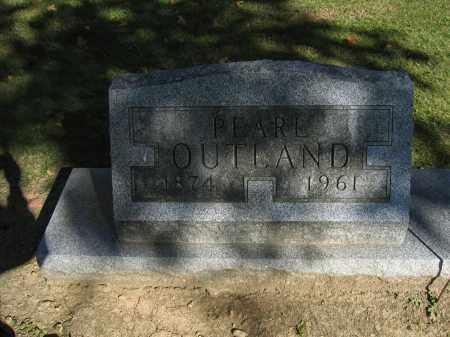 OUTLAND, PEARL - Logan County, Ohio | PEARL OUTLAND - Ohio Gravestone Photos