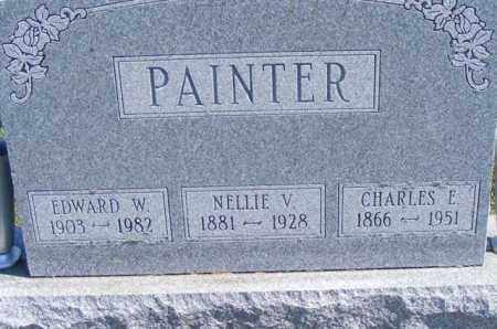 PAINTER, EDWARD W - Logan County, Ohio | EDWARD W PAINTER - Ohio Gravestone Photos
