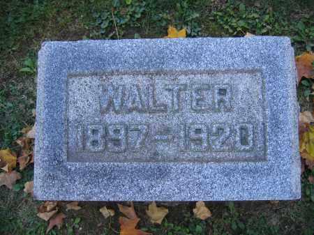 PATRICK, WALTER - Logan County, Ohio | WALTER PATRICK - Ohio Gravestone Photos