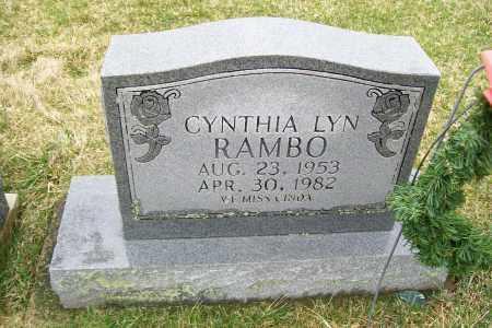 RAMBO, CYNTHIA LYN - Logan County, Ohio | CYNTHIA LYN RAMBO - Ohio Gravestone Photos