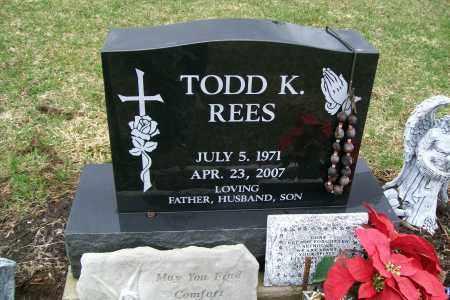 REES, TODD K. - Logan County, Ohio | TODD K. REES - Ohio Gravestone Photos