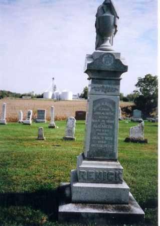 RENICK, ELIZABETH - Logan County, Ohio | ELIZABETH RENICK - Ohio Gravestone Photos