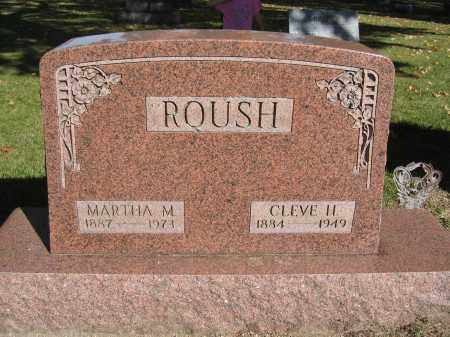 ROUSH, MARTHA M. - Logan County, Ohio   MARTHA M. ROUSH - Ohio Gravestone Photos