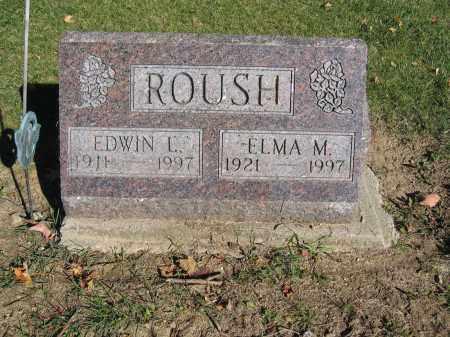 ROUSH, ELMA M. - Logan County, Ohio | ELMA M. ROUSH - Ohio Gravestone Photos