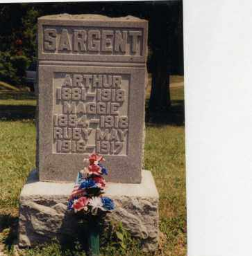 SARGENT, RUBY MAY - Logan County, Ohio | RUBY MAY SARGENT - Ohio Gravestone Photos