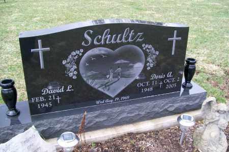 SCHULTZ, DAVID L. - Logan County, Ohio   DAVID L. SCHULTZ - Ohio Gravestone Photos