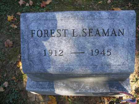 SEAMAN, FOREST L. - Logan County, Ohio   FOREST L. SEAMAN - Ohio Gravestone Photos