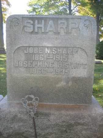 SHARP, JOSEPHINE - Logan County, Ohio | JOSEPHINE SHARP - Ohio Gravestone Photos