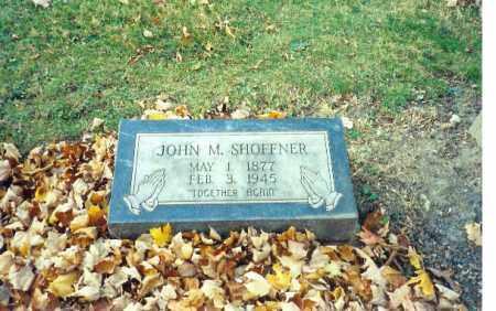 SHOFFNER, JOHN M - Logan County, Ohio | JOHN M SHOFFNER - Ohio Gravestone Photos