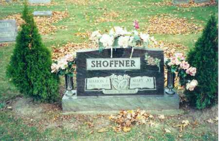 SHOFFNER, MARION F. - Logan County, Ohio | MARION F. SHOFFNER - Ohio Gravestone Photos