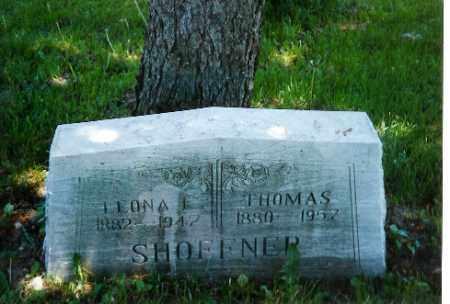 SHOFFNER, THOMAS - Logan County, Ohio | THOMAS SHOFFNER - Ohio Gravestone Photos