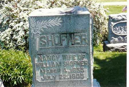 SHOFFNER, NANCY - Logan County, Ohio | NANCY SHOFFNER - Ohio Gravestone Photos