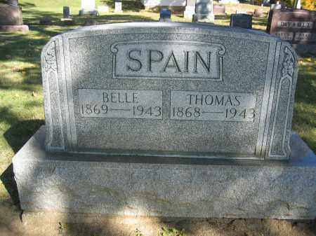 SPAIN, BELLE - Logan County, Ohio | BELLE SPAIN - Ohio Gravestone Photos