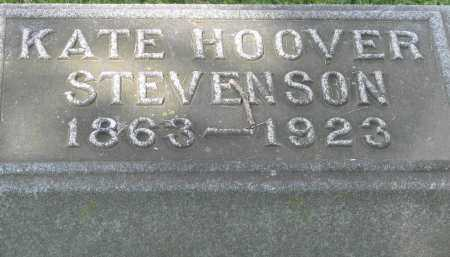 STEVENSON, KATE - Logan County, Ohio | KATE STEVENSON - Ohio Gravestone Photos