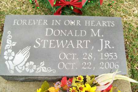STEWART, DONALD M. - Logan County, Ohio   DONALD M. STEWART - Ohio Gravestone Photos
